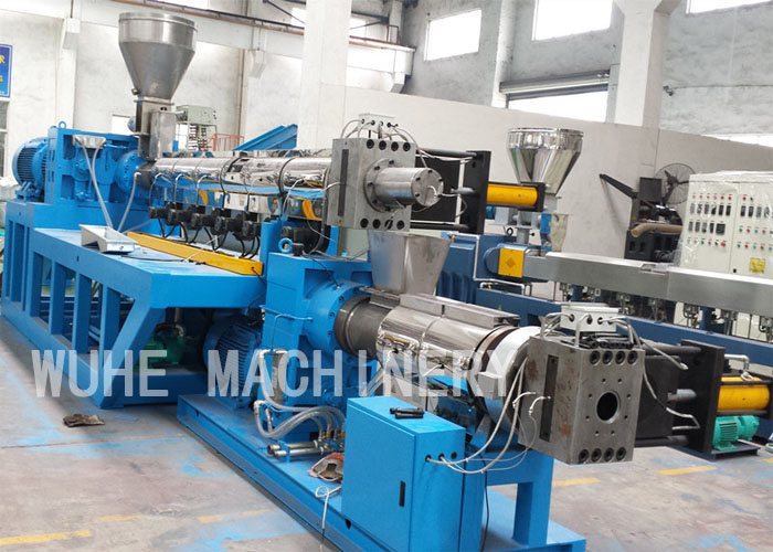 PP/PE double stage granulation line (strand type)